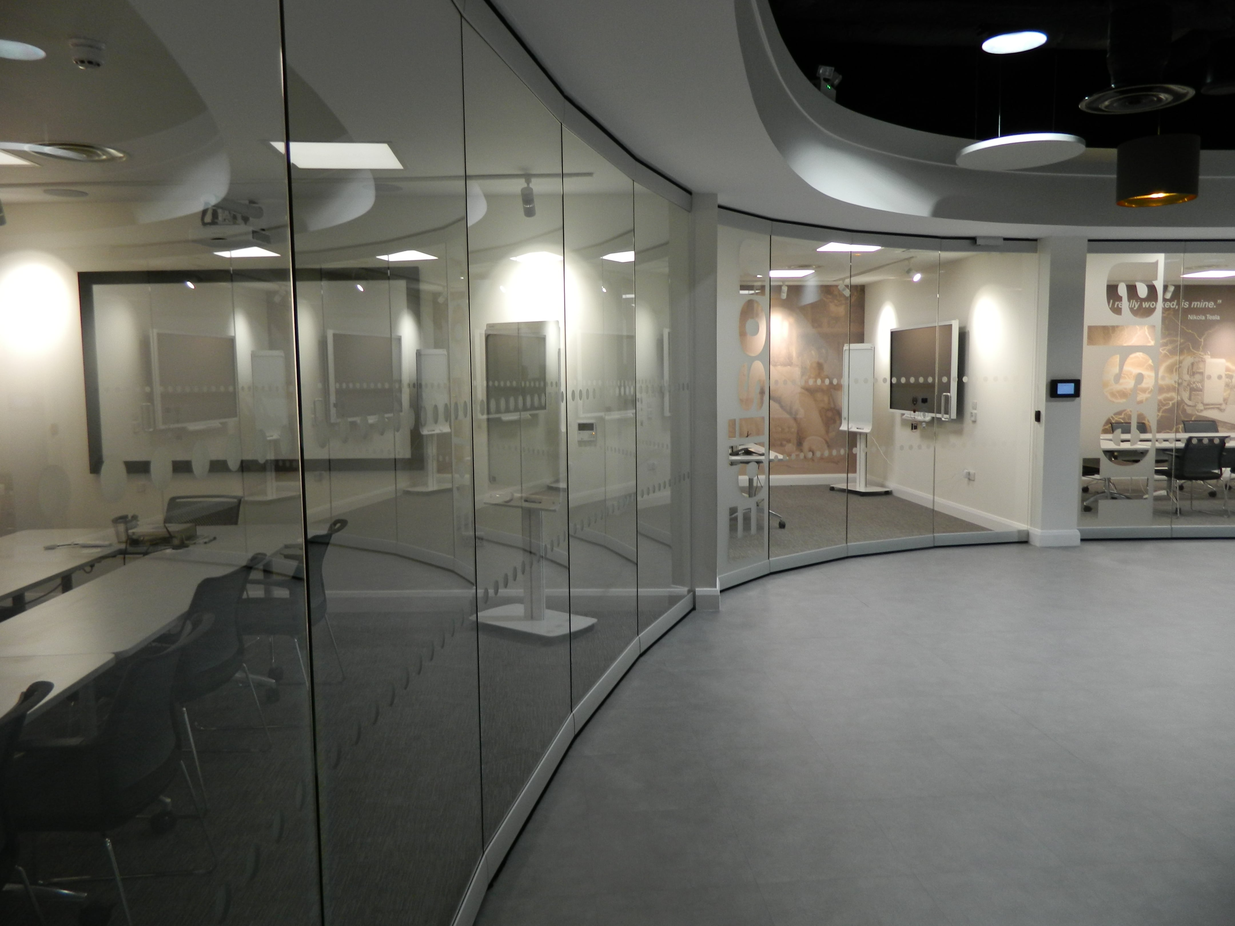 Movable Glass Walls 3